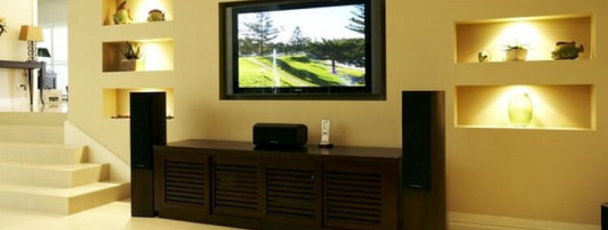 Wall-Mounted-TV
